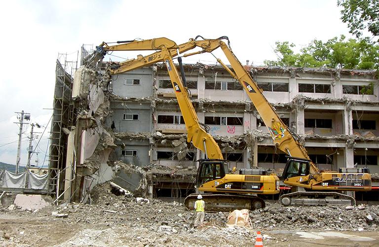 家具・大型建物の解体 建物の解体 事業紹介 株式会社JAC